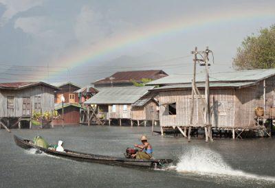 Nam Hu, a village on stilts on Inle Lake @ Birgit Neiser