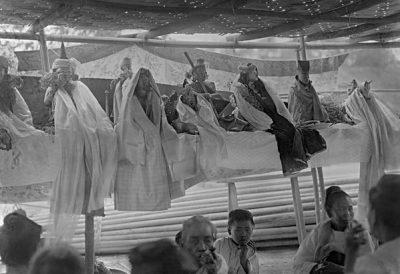 Nat altar during a Nat festival in Mandalay @ Christine Scherman