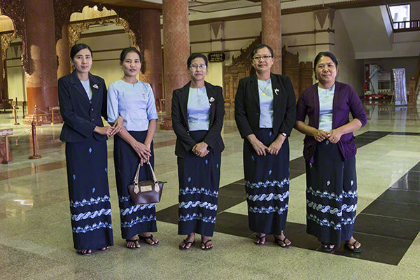 """Pictures Of The Opening Ceremony """"Golden Land"""" At The Bagan Archeological Museum"""