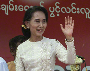 NLD Ralley In Mandalay, May 2014