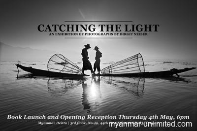 "Yangon Book Launch ""Catching The Light"""