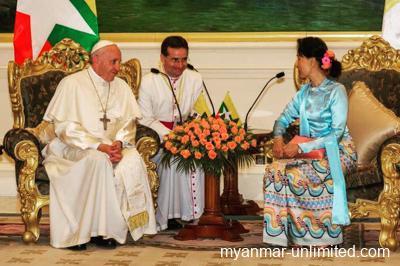 Pope Francis' Visit To Myanmar
